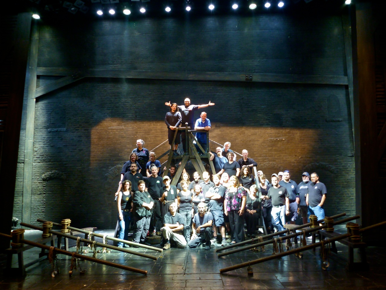 Crew Photo: BAA's Les Misérables (2012)