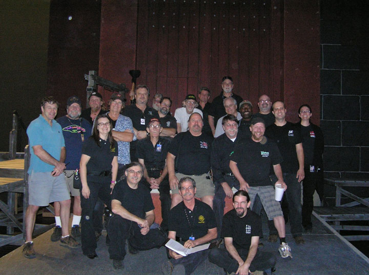 Crew Photo: ALO's Turandot (2012)